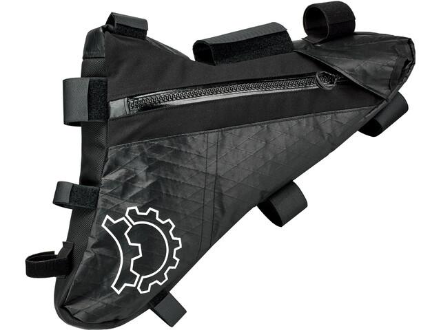Revelate Designs Mukluk Carbon Bolsa de Cuadro S, negro